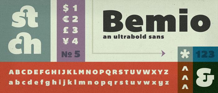 Bemio-fresh-free-fonts-2012